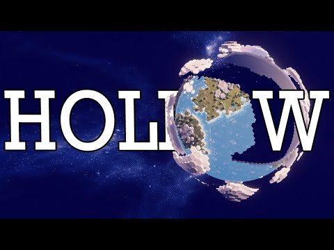 Proving the EARTH IS HOLLOW in city builder Before We Leave!