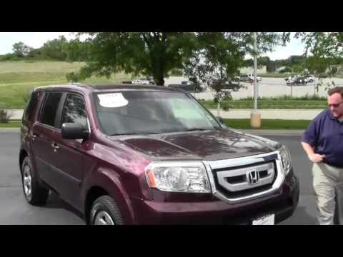 Certified Used 2011 Honda Pilot LX for sale at Honda Cars of Bellevue...an Omaha Honda Dealer!