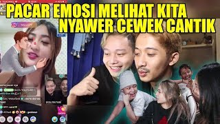 Download lagu NYAWER CEWEK BIGO DEPAN JESSICA & MEGA
