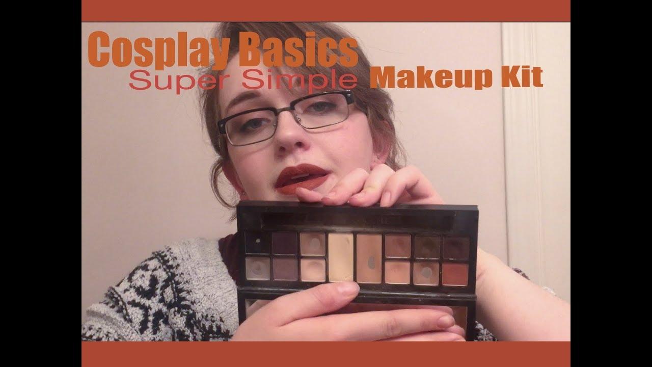 My Basic Cosplay Makeup Kit! || Cosplay Basics - YouTube