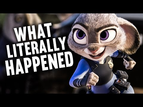 What Literally Happened in Zootopia