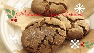 Molasses Spice Cookies| Vanilla Maria Thumbnail
