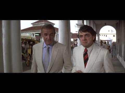 Rowan Atkinson in Never Say Never Again