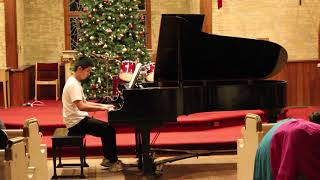Solfeggio in C Minor by C.P.E. Bach performed by Music & Arts School Student.