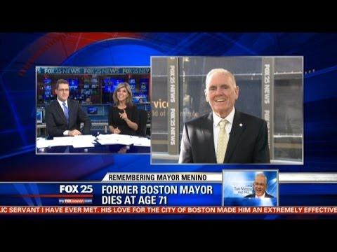 Former Boston Mayor Ray Flynn fondly recalls Tom Menino