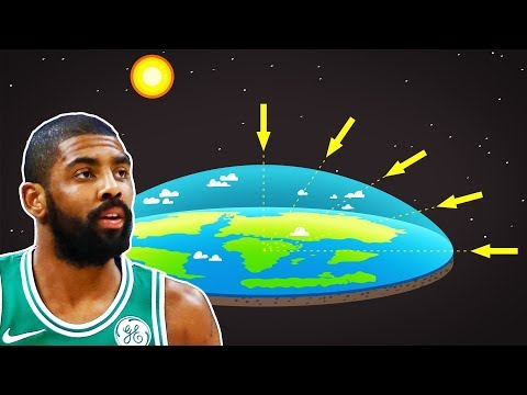 Kyrie Irving Explains His Flat Earth Conspiracy Theory