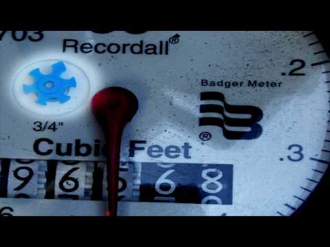 How To Read Your New Digital Water Meter Register
