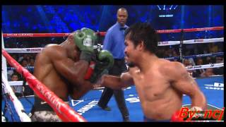 Pacquiao vs Bradley 2 : Pacquiao's 10-punch combo in round 7