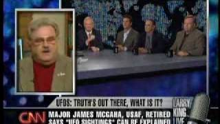 Larry King CNN UFO Disclosure 3/4