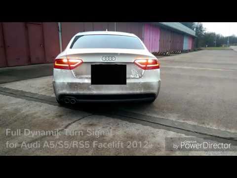 Audi A5 S5 RS5 Dynamische Blinker Umbau...