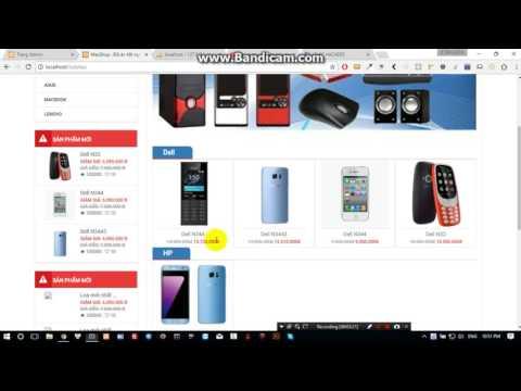 Bài 15: Xây dựng website bán hàng bằng php thuần :  tạo file