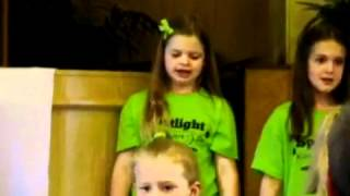 Isabella and Spotlight Kids sing Never Say Never