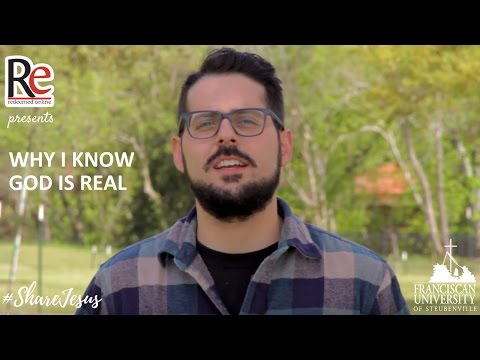 Why I Know God is Real - Jonathan Alexander #ShareJesus Lent Video 30