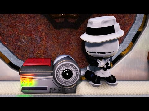 LittleBigPlanet 3 - The ComicBook Adventures of Rubber Band Ball Man! - LBP3 Animation