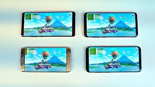 Fortnite Samsung Galaxy S9 Plus / Note 9 vs S8 vs S7 vs Note 8 Gameplay Comparison!