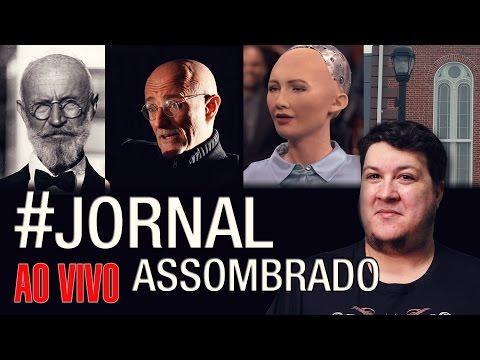J.A.#43: Robô Volta a Dizer que vai nos Dominar - Carl von Cosel - Foto Salem - Transplante Cabeça!