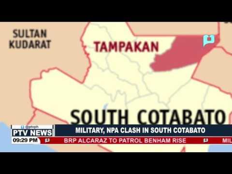 Military, NPA clash in South Cotabato