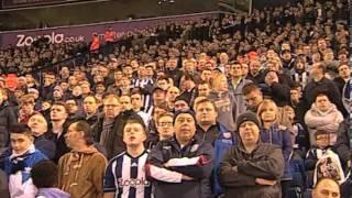 West Bromwich Albion 2 Norwich City 1: Fan Cam