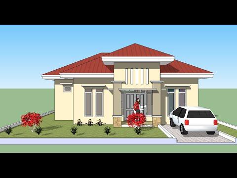 Menggambar rumah dengan Sketchup YouTube