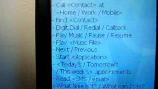 Voice tag usage demo