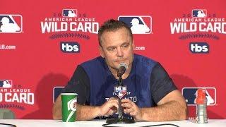 AL WC: Gibbons talks emotional Wild Card walk-off win