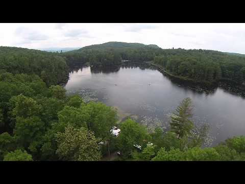 Halfmoon Pond State Park - Vermont - 7-19-2015 - Lake And Campsite 2
