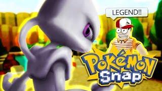 FIRST LEGENDARY! / Pokemon Snap / Roblox Adventures