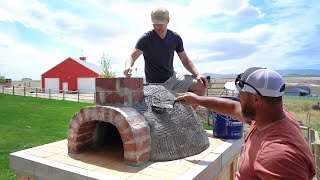 How to Build a Pizza Oven (our favorite DIY project yet!)