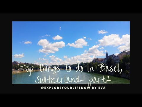 Basel Switzerland Travel Gopro video - Top things to do in Basel