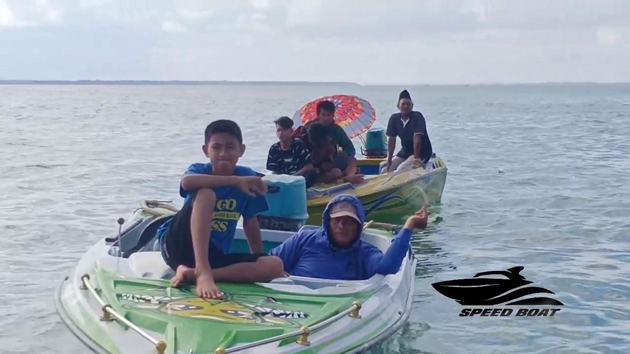 nonton Balapan speed boat tarakan sambil mancing - YouTube