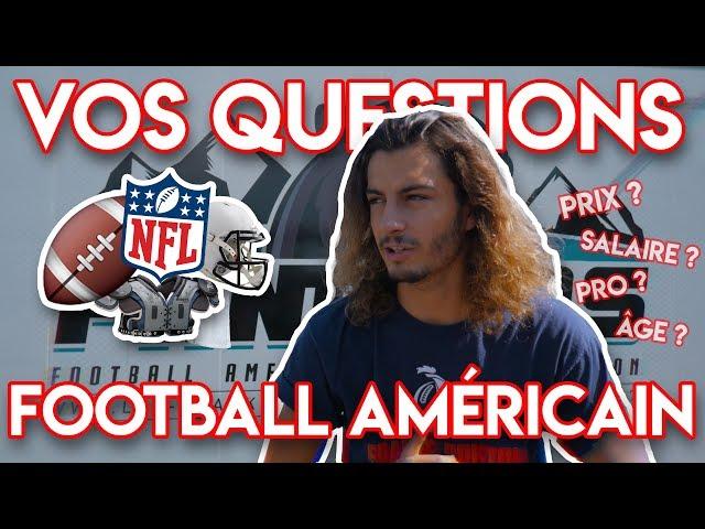 VOS QUESTIONS SUR LE FOOTBALL AMÉRICAIN ! (+CONCOURS)