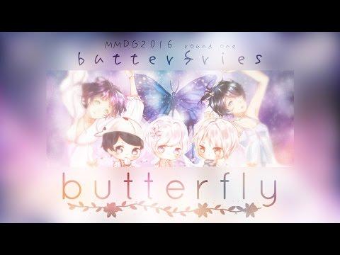 【MMDG16-R1】BTS / Butterfly (버터플라이) - Japanese Ver.【butterfries】
