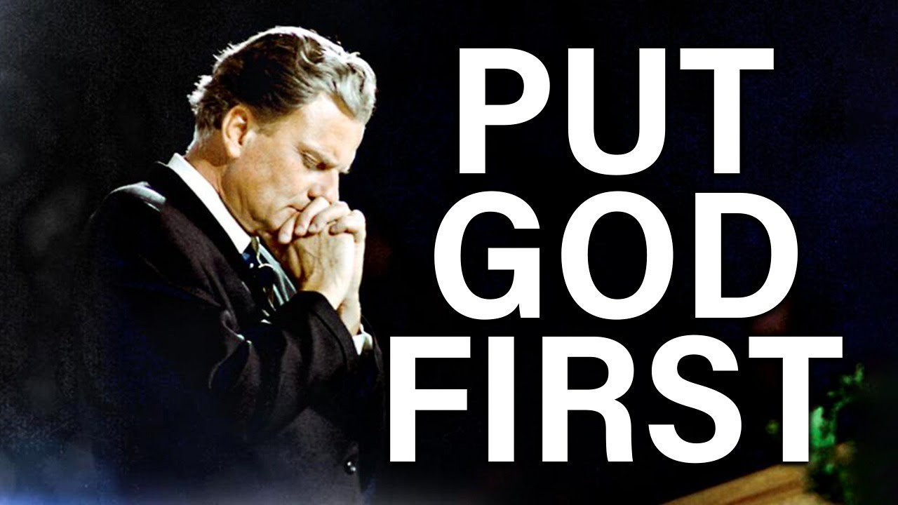 Put God First Because He Puts You First