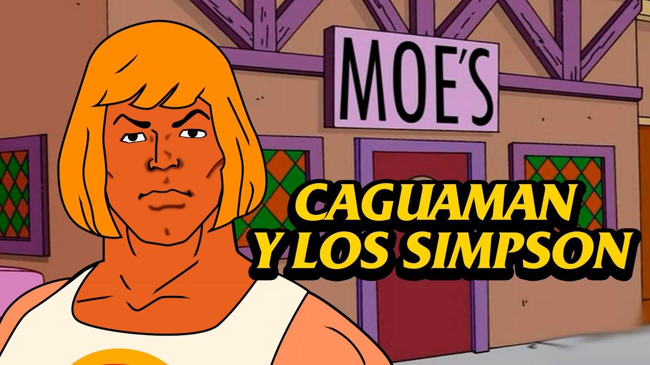 Caguaman y los Simpson