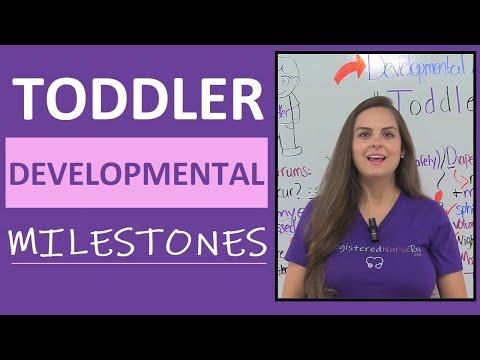 Toddler Developmental Milestones by Age