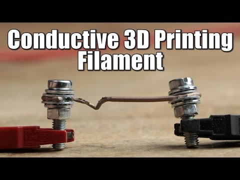 Conductive 3D Printing Filament - Resistance/Power Test