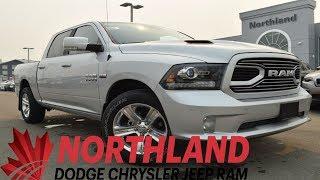 Walk Around 2018 RAM 1500 Sport | Northland Dodge | Auto Dealership in Prince George BC
