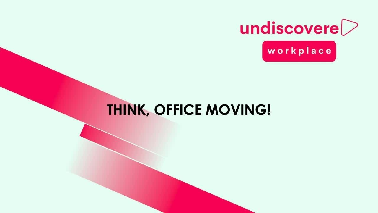 Our customer's journey.....Think, Office Moving!