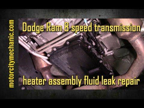 Dodge Ram 8 Speed Transmission Heater Assembly Fluid Leak