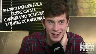 Shawn Mendes fala sobre crush, carreira no YouTube e frases de paquera no Joiz. (PT / BR)