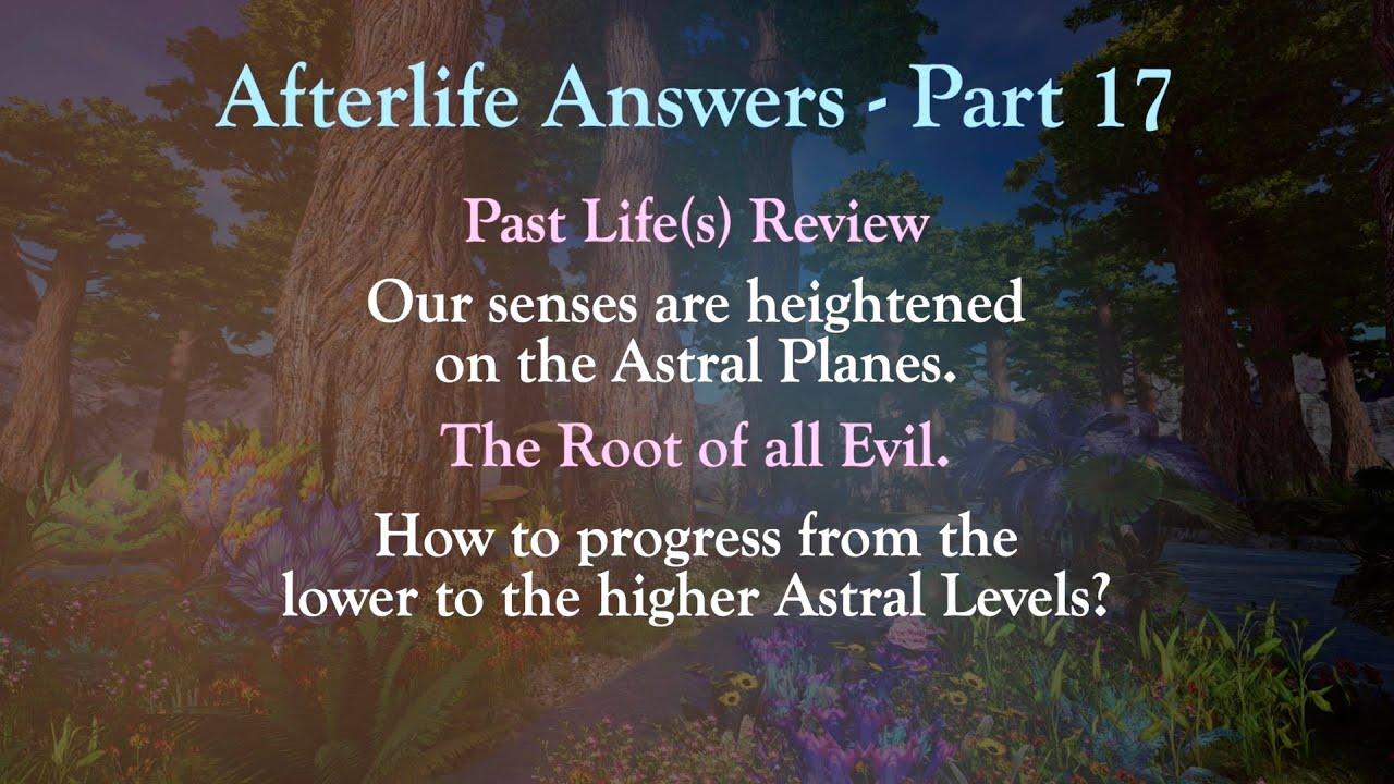 Afterlife Answers    Part 17