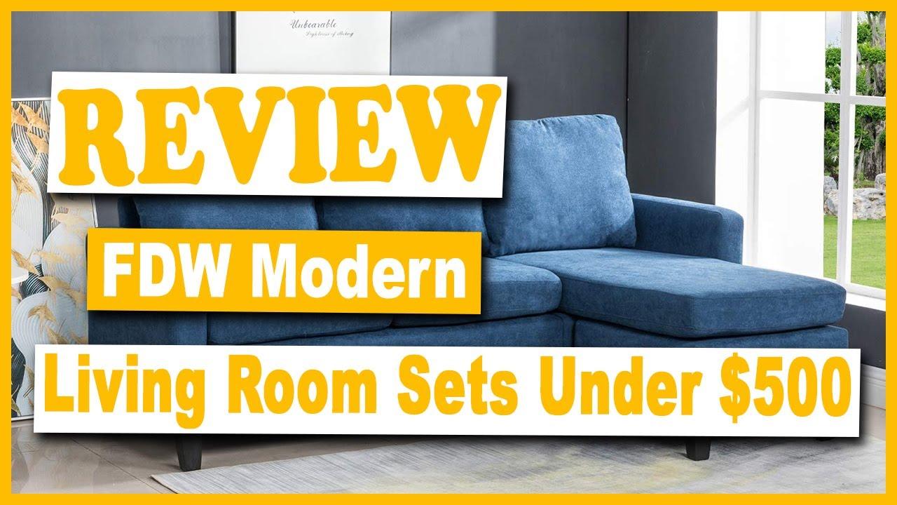 Fdw Modern Sofa Furniture Set Under