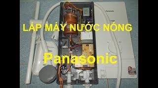 Hướng dẫn lắp đặt máy nước nóng Panasonic DH-4MP1