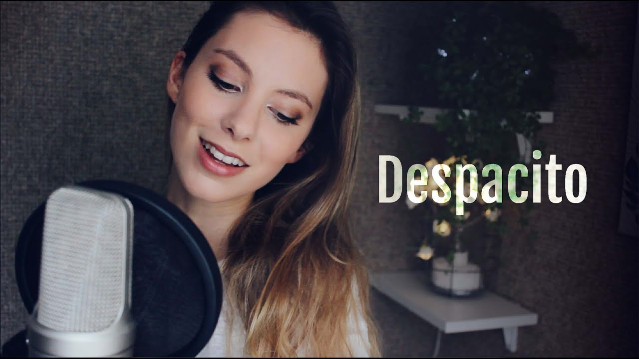 despacito luis fonsi feat justin bieber romy wave cover youtube