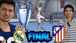 Fifa Street - Real Madrid Vs Atlético de Madrid - Final en Fútbol Sala - Reto del Huevo