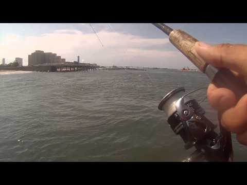 Fishing The Absecon Inlet Jetty For Black Sea Bass And Bergall (Atlantic City, NJ)