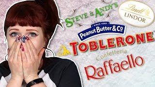 Irish People Try White Chocolate Everything