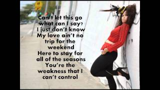 Elle Varner (ft. J Cole) I only wanna give it to you (with lyrics)