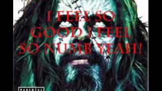 Rob Zombie- Feel So Numb Lyrics
