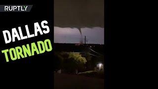 Destructive Tornado Rips Through Dallas Texas